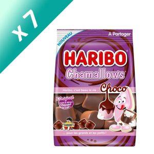 BONBONS CRÉMEUX [LOT DE 7] Guimauves au chocolat 160 g Haribo