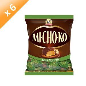 CONFISERIE DE CHOCOLAT LA PIE QUI CHANTE Lot de 6 Bouchées chocolatées no