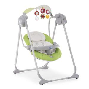 TRANSAT - BALANCELLE CHICCO Balancelle Polly Swing Up Green