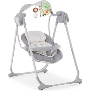 TRANSAT - BALANCELLE CHICCO Balancelle Polly Swing Up Silver