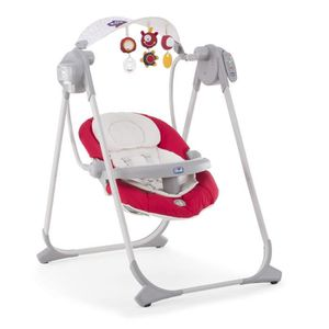 TRANSAT - BALANCELLE CHICCO Balancelle Polly Swing Up Paprika