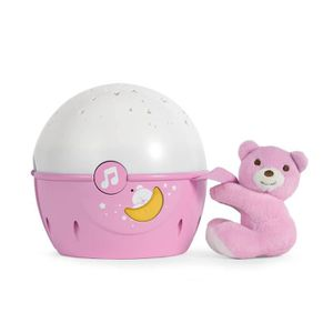 MOBILE CHICCO Projecteur Next2 Stars Rose First Dreams