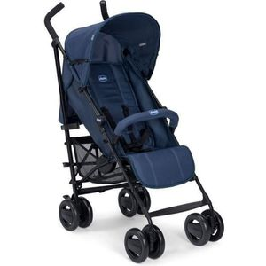 POUSSETTE  CHICCO Poussette Canne London Up avec arceau Blue