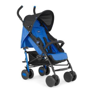 POUSSETTE  CHICCO Poussette Canne Echo avec arceau Power Blue