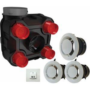 VMC - ACCESSOIRES VMC Kit VMC simple flux Evia basse consommation DMO -