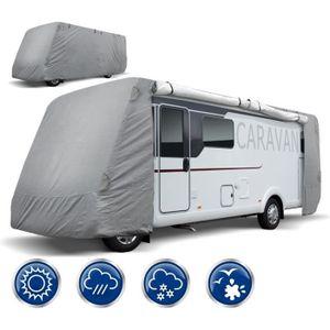 b/âche de protection de toit pour camping-car tissu non tiss/é synth/étique en microfibres ECD Germany Housse de protection pour toit de caravane taille XL 7,5 x 3m