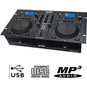 PLATINE DJ GEMINI CDM-4000 Lecteur Combo Professionnel CD / U