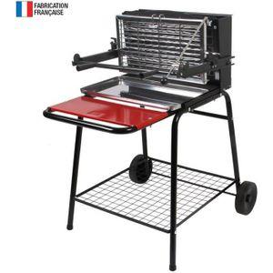 BARBECUE Somagic - Barbecue au charbon de bois à foyer vert