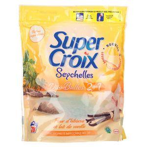 LESSIVE SUPER CROIX Seychelles 2en1 28 doses