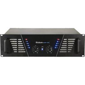 AMPLI PUISSANCE IBIZA AMP1000 Amplificateur de sonorisation 2 x 80