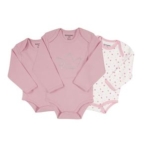 BODY Body bébé fille - Princesse (lot de 3)