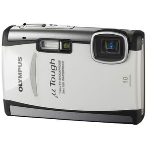 APPAREIL PHOTO COMPACT Olympus Mju TOUGH-6000 Blanc