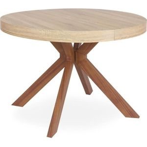 TABLE À MANGER SEULE Table Ronde Extensible