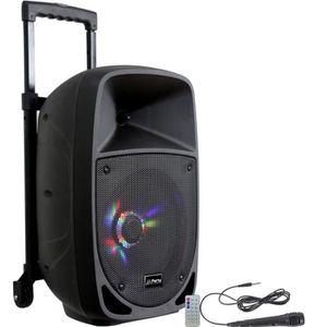 ENCEINTE ET RETOUR PARTY LIGHT & SOUND PARTY-8LED Enceinte portable 8