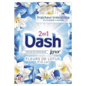 LESSIVE DASH Lessive poudre - Fleur de Lys