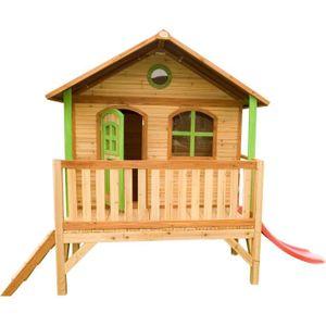MAISONNETTE EXTÉRIEURE LDD AXI Maisonnette Enfant Cabane en bois Stef