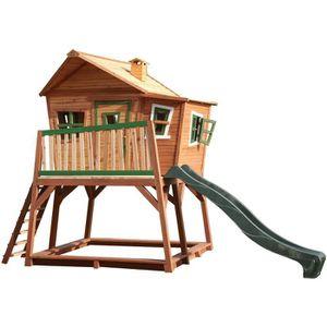 MAISONNETTE EXTÉRIEURE AXI Maisonnette Enfant Cabane en bois Max