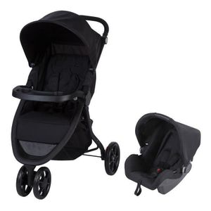 POUSSETTE  SAFETY 1ST Poussette Urban Trek 2 in 1 Black Chic
