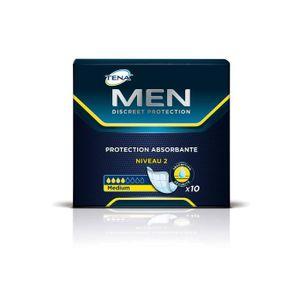 FUITES URINAIRES TENA MEN Serviettes hygiéniques pour fuites urinai