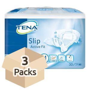 FUITES URINAIRES TENA Slip Active Fit Plus (PE Backed) - Medium - C
