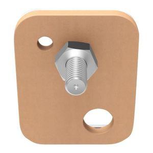 VIS - CACHE-VIS TESA Vis adhésives rectangulaires - Pour brique &