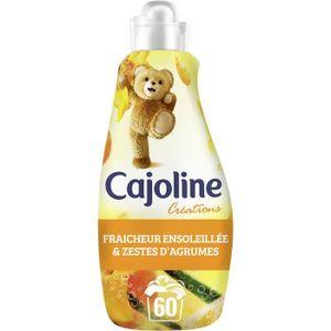 LESSIVE CAJOLINE Adoucissant Fraîcheur Ensoleillée 1,5L