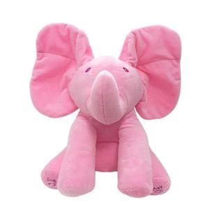 PELUCHE Poupée Peluche Chant éléphant / Ours Musique En Je