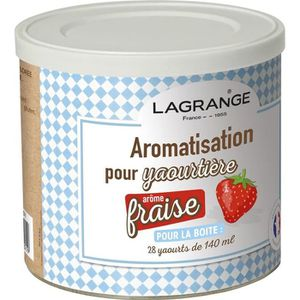 YAOURTIÈRE - FROMAGÈRE LAGRANGE Aromatisation fraise pour yaourts