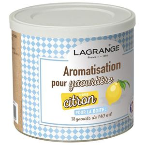YAOURTIÈRE - FROMAGÈRE LAGRANGE Aromatisation citron pour yaourts