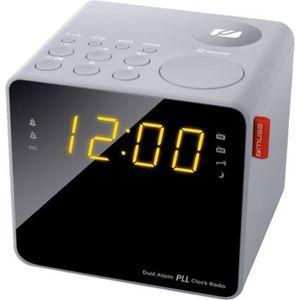 Radio réveil MUSE M-187 CLG Radio Reveil Double Alarme - Tuner
