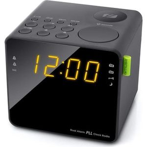 Radio réveil MUSE M-187 CR Radio Reveil Double Alarme - Tuner P