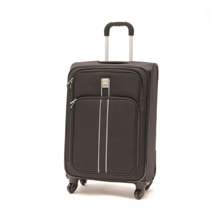visa delsey valise trolley 4 roues 66 cm linea noir achat vente valise bagage visa delsey. Black Bedroom Furniture Sets. Home Design Ideas