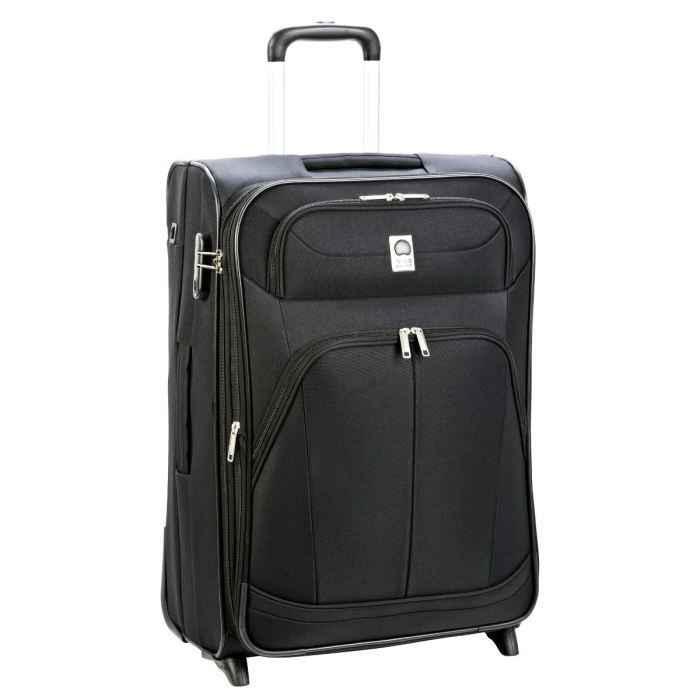 visa delsey valise trolley 2 roues pin up 4 64 cm noir achat vente valise bagage. Black Bedroom Furniture Sets. Home Design Ideas