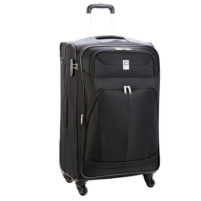 visa delsey valise trolley 4 roues 65 cm pin up 4 noir noir achat vente valise bagage. Black Bedroom Furniture Sets. Home Design Ideas