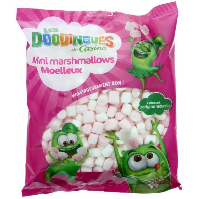 Mini marshmallows moelleux Les Doodingues - 200 g