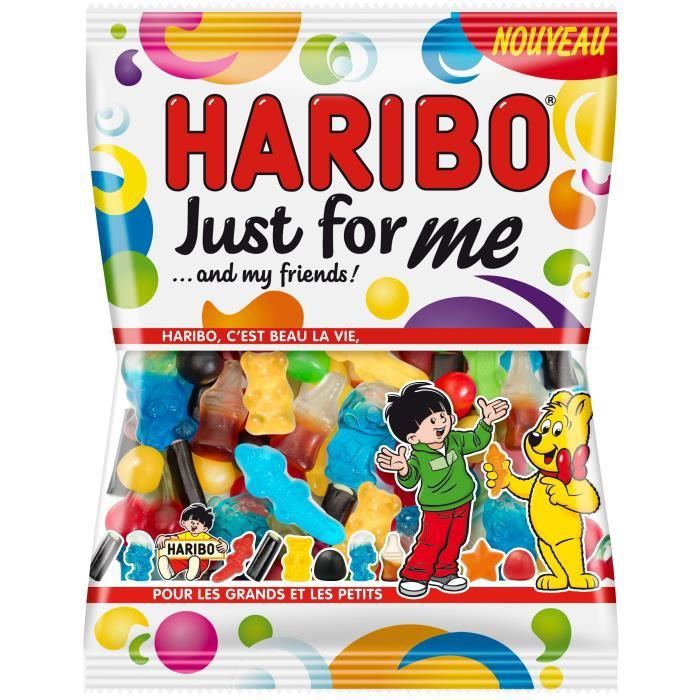 HARIBO Bonbons Just for me … and my friends - 275 g