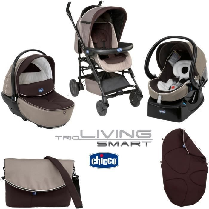 CHICCO Trio Living Smart Brownie Poussette