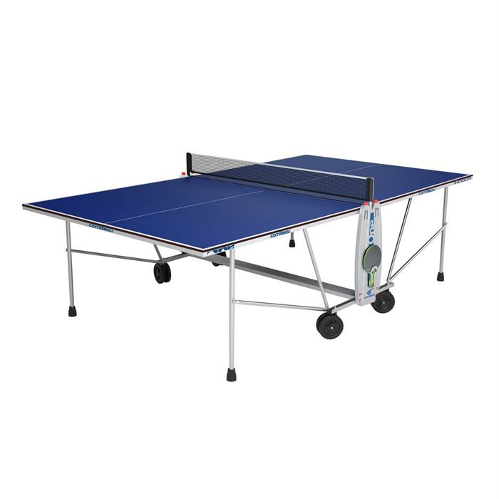 Cornilleau Table Ping Pong Sport One Indoor Bleue Prix Pas Cher