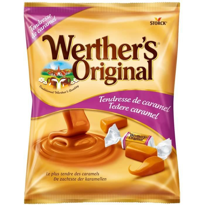 WERTHER'S ORIGINAL Caramels tendres - 158 g