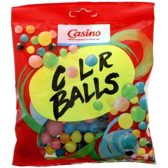 ANDROS Bonbons Colors balls - 200 g