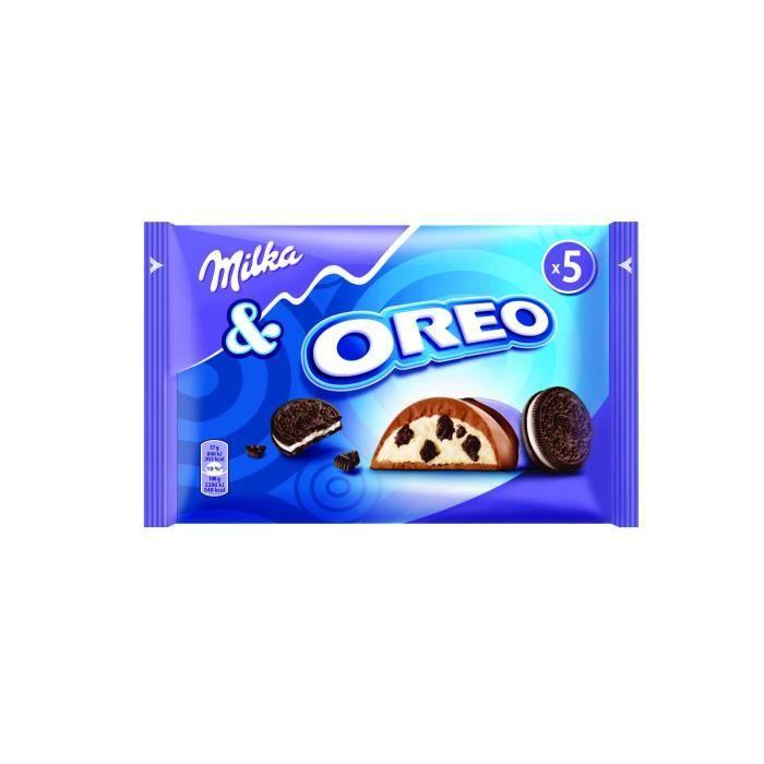 Chocolat au lait OREO 185g Milka