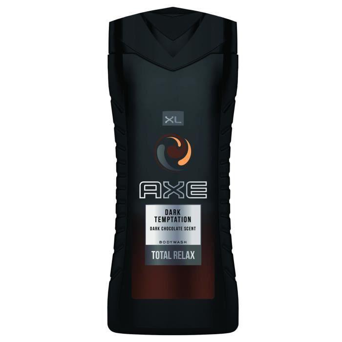 AXE Gel Douche Homme Dark Temptation - 400 ml