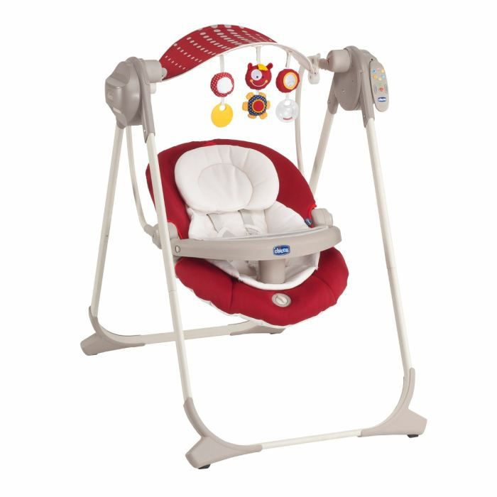 TRANSAT - BALANCELLE CHICCO Balancelle Polly Swing Up Red