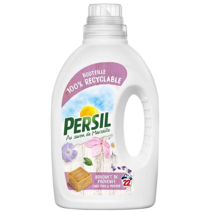 Lessive liquide bouquet de provence 1100 ml Persil