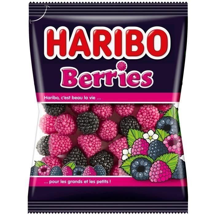 HARIBO Bonbons fantaisies Berries - 200 g
