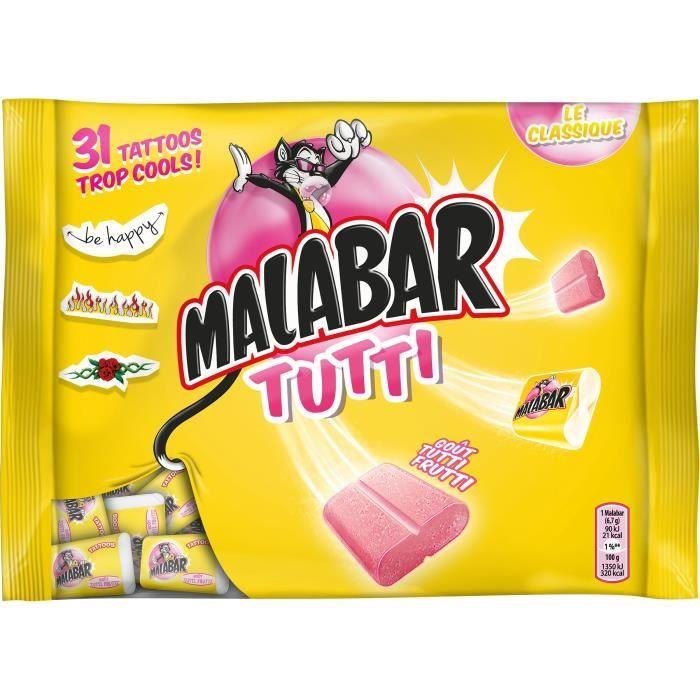 MALABAR Bonbons Tutti - 214 g
