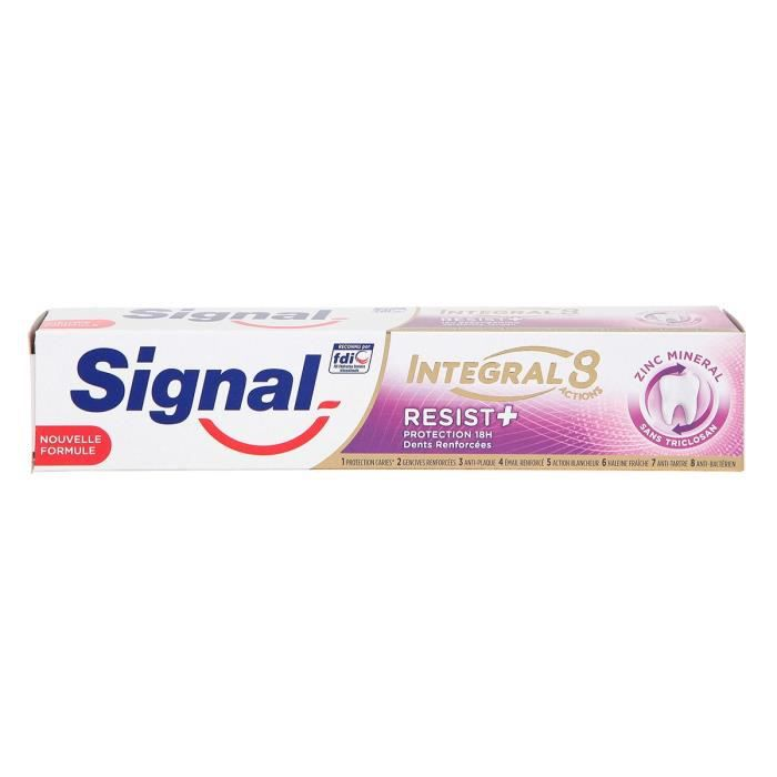 Signal Dentifrice Antibactérien Resist Plus Protection 18H 75ml