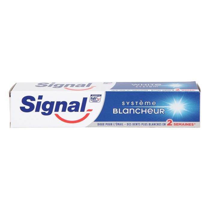 Signal Dentifrice Système Blancheur 75ml