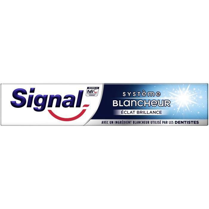 SIGNAL Dentifrice Blancheur Eclat Brillance - 75 ml