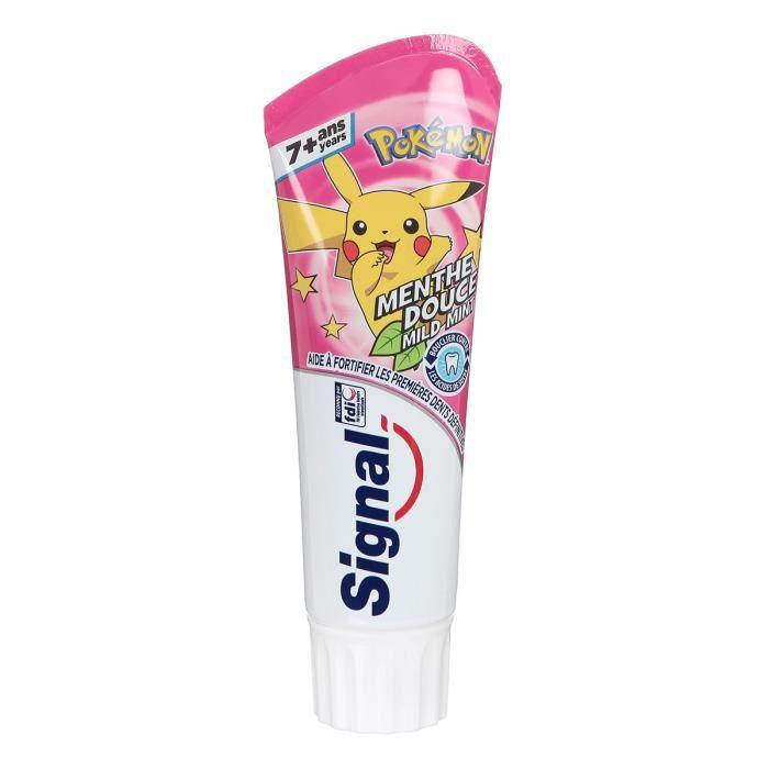 Signal Dentifrice Enfants Menthe Pokémon 7 + Ans 75ml